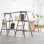 おしゃれな棚を安く手に入れたいなら脚立に板3枚並べてみたら?ニトリやIKEAで家具を買わない選択肢とオープンソースデザイン
